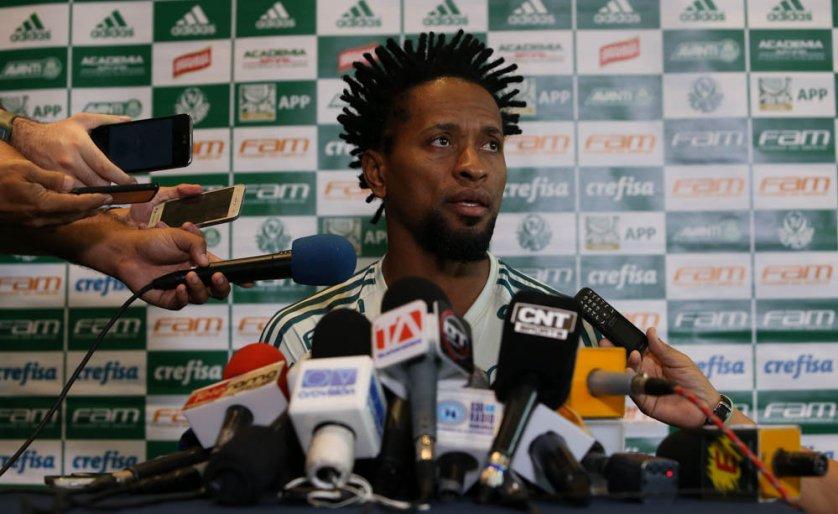 Zé Roberto soma 121 jogos pelo Verdão. (Cesar Greco/Ag. Palmeiras/Divulgação)