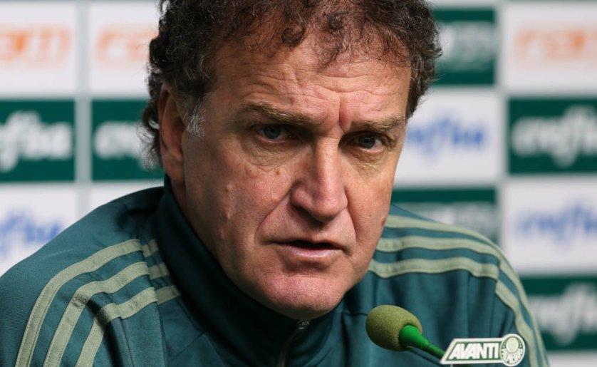 Cuca soma 75 jogos no comando do Verdão somadas suas duas passagens. (Cesar Greco/Ag. Palmeiras/Divulgação)