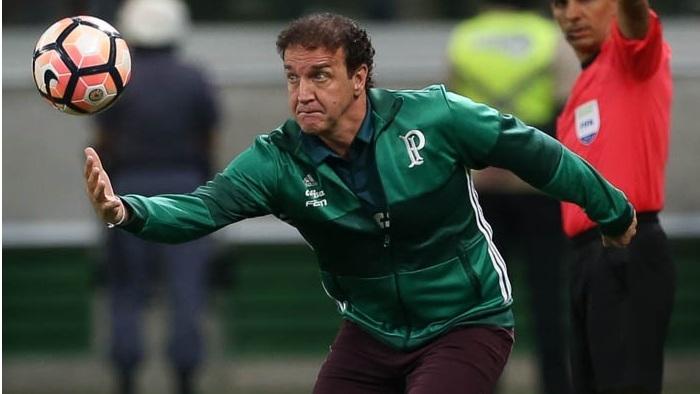 Técnico Cuca comentou a eliminação do Palmeiras após duelo. (Cesar Greco/Ag Palmeiras/Divulgação)