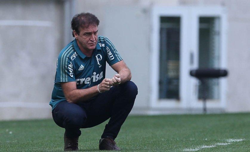 Será que Cuca finalmente começa a dar sua cara ao Palmeiras de 2017? (Cesar Greco/Ag Palmeira/Divulgação)