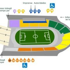 Venda de ingressos para jogo contra o Internacional pelo Brasileiro