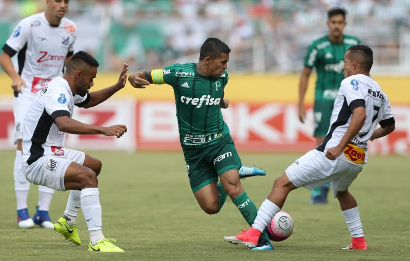 Em sua quarta temporada no Verdão, Dudu se isolou como vice-artilheiro do século XXI. (Cesar Greco/Ag. Palmeiras/Divulgação)