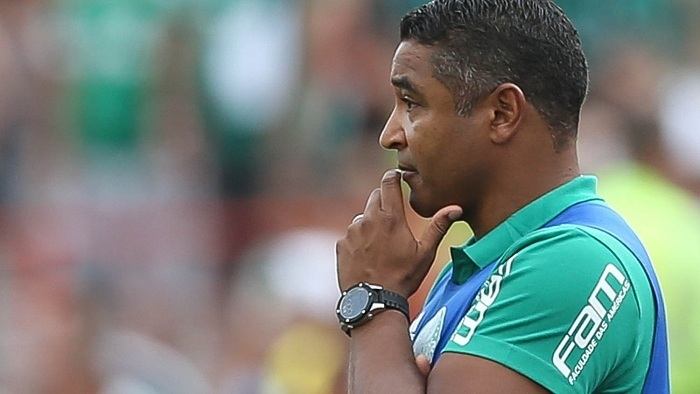 Roger Machado valorizou bastante o resultado fora de casa. (Cesar Greco/Ag Palmeiras/Divulgação)