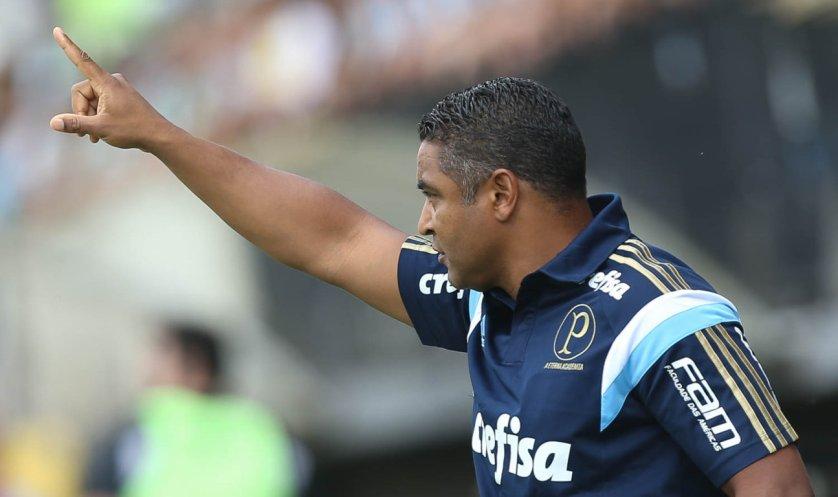 Roger Machado destacou o empenho dos jogadores que começam no banco. (Cesar Greco/Ag. Palmeiras/Divulgação)