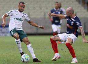 Palmeiras iguala sequência negativa de 2016