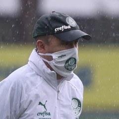 Palmeiras encerra preparação para jogo contra o Tigre-ARG, pela Libertadores