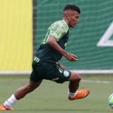 Treino: Gómez, PK e Veron treinam normalmente com o grupo em reapresentação