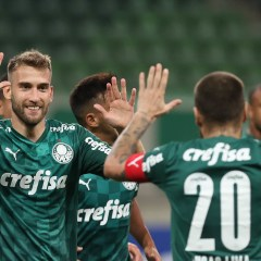 """Em """"estreia"""" no Paulistão, Palmeiras goleia o São Caetano"""