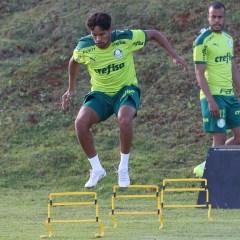 Treino: Palmeiras realiza treino tático um dia antes de jogo decisivo pela Recopa