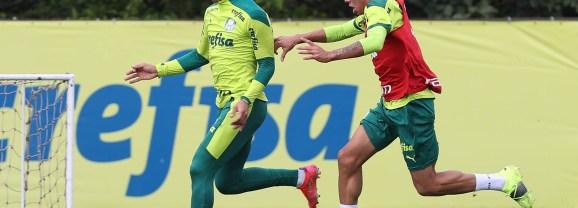 Treino: Palmeiras se reapresenta após polêmica; Danilo vai a campo