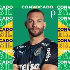 Weverton é convocado para a Seleção Brasileira e desfalcará o Palmeiras no final do 1º turno do Brasileirão