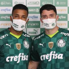 Jorge e Piquerez são oficialmente apresentados ao Verdão
