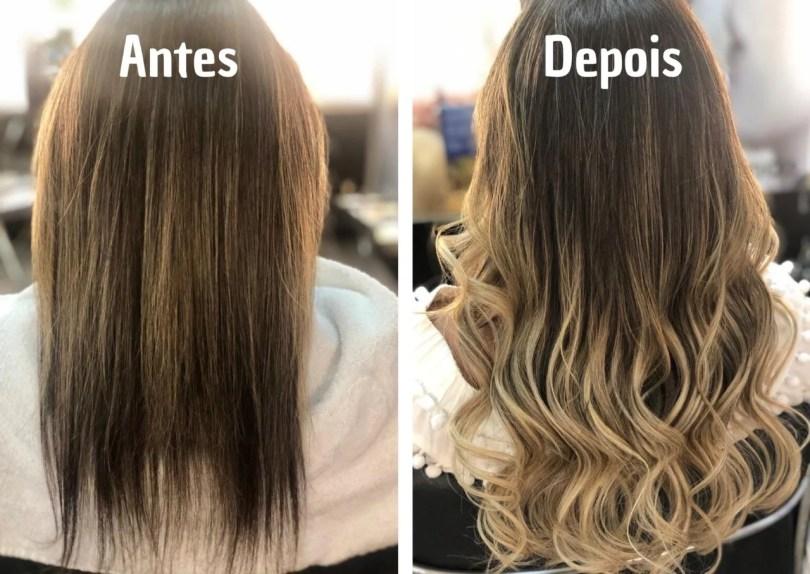 Fotos de melhores mega hair que não agridem o cabelo