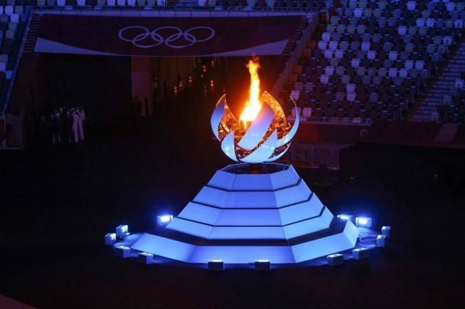 Fotos da Cerimônia de Encerramento dos Jogos Olímpicos de Tóquio - foto: AFP