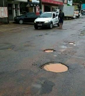 Prefeitura prometeu operação tapa buracos em Ibitirama