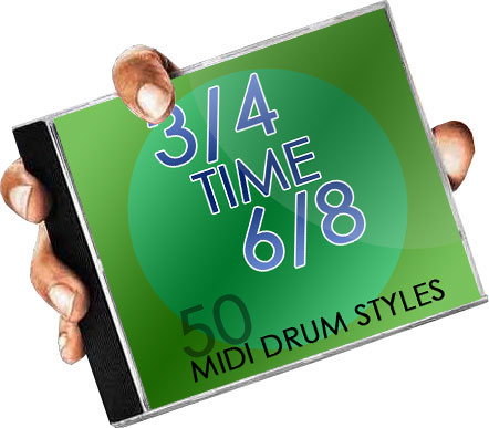 3/4 and 6/8 Drum Beats