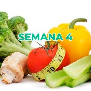 Dieta disociada semana 4