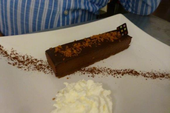 Croquant au chocolat praliné Valrhona
