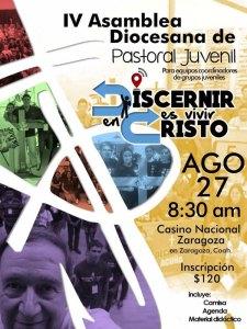 IV ASAMBLEA DIOCESANA DE PASTORAL JUVENIL