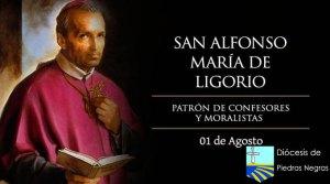 San Alfonso María de Ligorio, patrón de confesores y moralistas