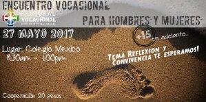 SE INVITA AL ENCUENTRO VOCACIONAL PARA HOMBRES Y MUJERES EN PIEDRAS NEGRAS
