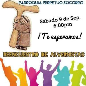 SE INVITA AL REENCUENTRO DE ALVERNISTAS EN LA PARROQUIA DEL PERPETUO SOCORRO DE PIEDRAS NEGRAS