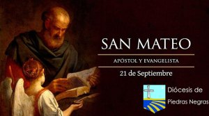 Hoy la Iglesia Católica celebra a San Mateo el Evangelista