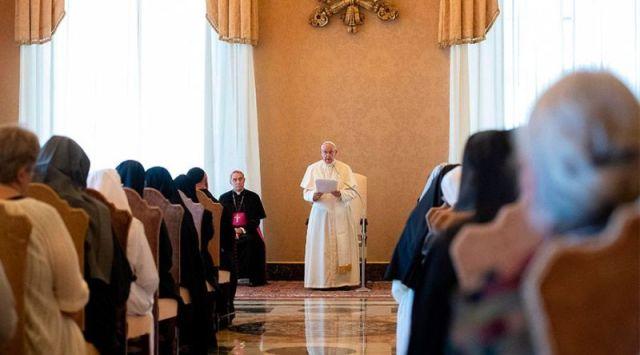 El Papa recuerda a benedictinas: Ustedes son iconos de la Iglesia y de la Virgen María