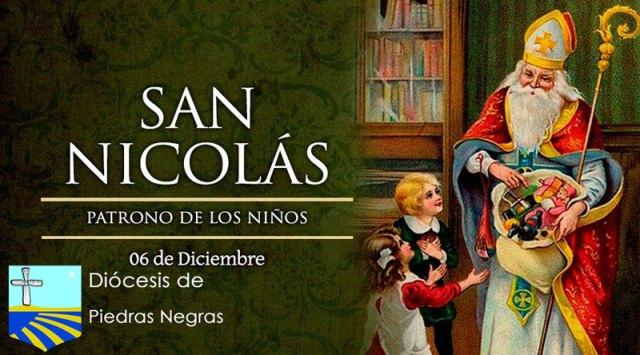 Hoy es fiesta de San Nicolás, patrono de los niños, marineros y viajeros