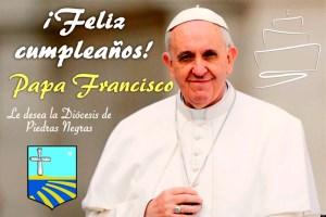 VIDEO: ¡FELIZ CUMPLEAÑOS 82 PAPA FRANCISCO!