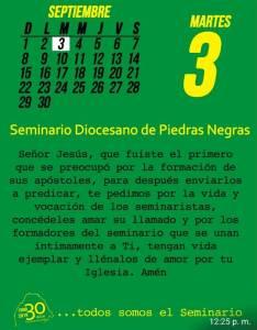 TODOS SOMOS EL SEMINARIO (03 SEPTIEMBRE)