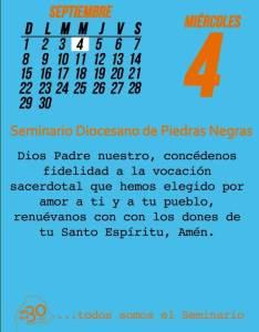 TODOS SOMOS EL SEMINARIO (04 SEPTIEMBRE)