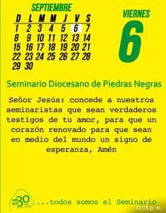 TODOS SOMOS EL SEMINARIO (06 SEPTIEMBRE)