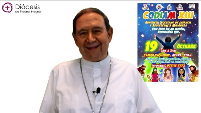VIDEO: MONS. ALONSO G. GARZA TREVIÑO INVITA AL CODIAM 2019