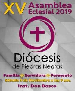 Material de la Asamblea Diocesana XV 2019