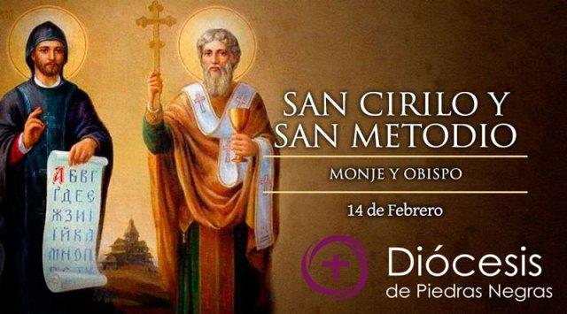 Hoy la Iglesia celebra a copatronos de Europa San Cirilo y Metodio