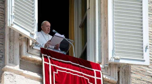 El Papa pide confiarle a Dios no sólo los problemas, sino también la vida