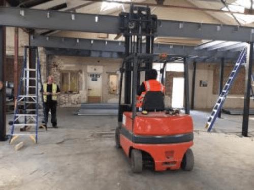 Forklift Beam