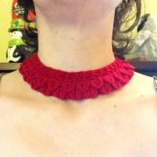 Layered Petals Collar