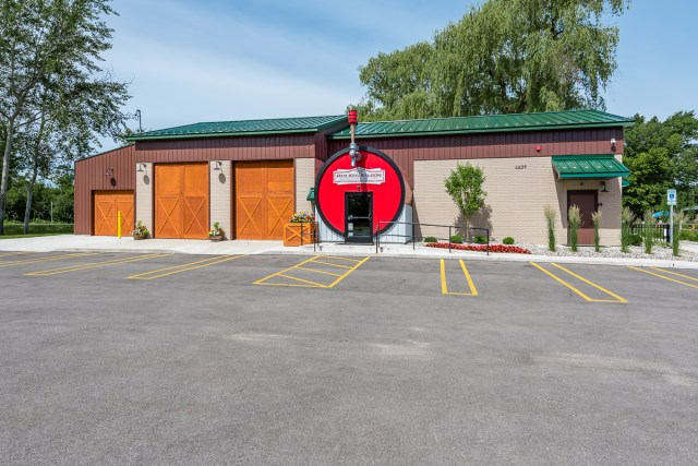 The Red Keg Barrel House is Midland Brewing Company's onsite event venue that is perfect for hosting small weddings, showers, business seminars or any need you may have.