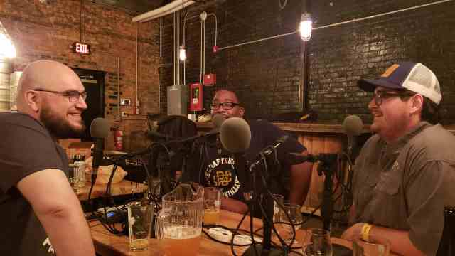 Kyle alongside Ken and Rob during our time spent recording the Better on Draft podcast leading up to the Michigan Brewers Guild Detroit Fall Beer Festival.