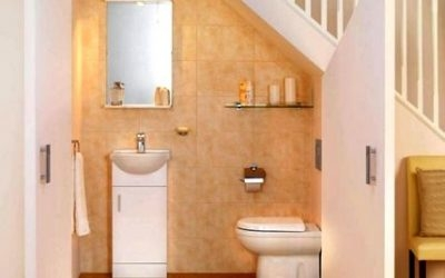 Cloakroom To Toilet Conversion Doors Windows Kitchens | Under Stair Toilet Design | Toilet Separate | Underground Washroom | Wet Room | Stepped Floor | Small