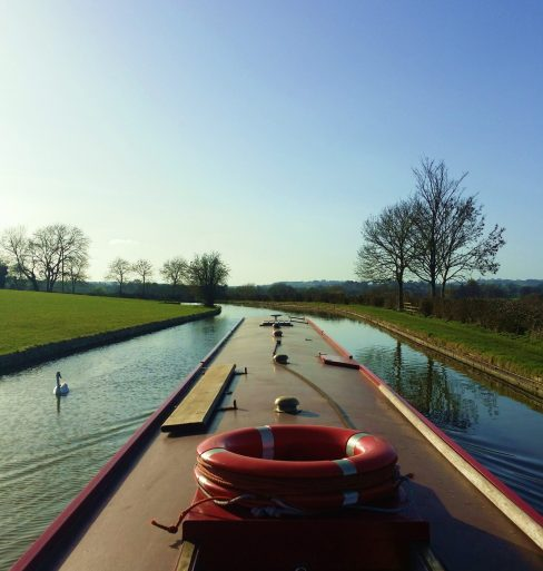 Cruising on the canal pic
