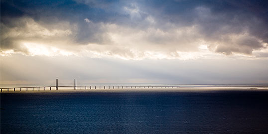 Oresund Bridge transport and commuting