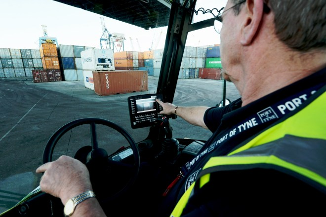 Port of Tyne recently invested £1.5m in new logistics based IT solutions