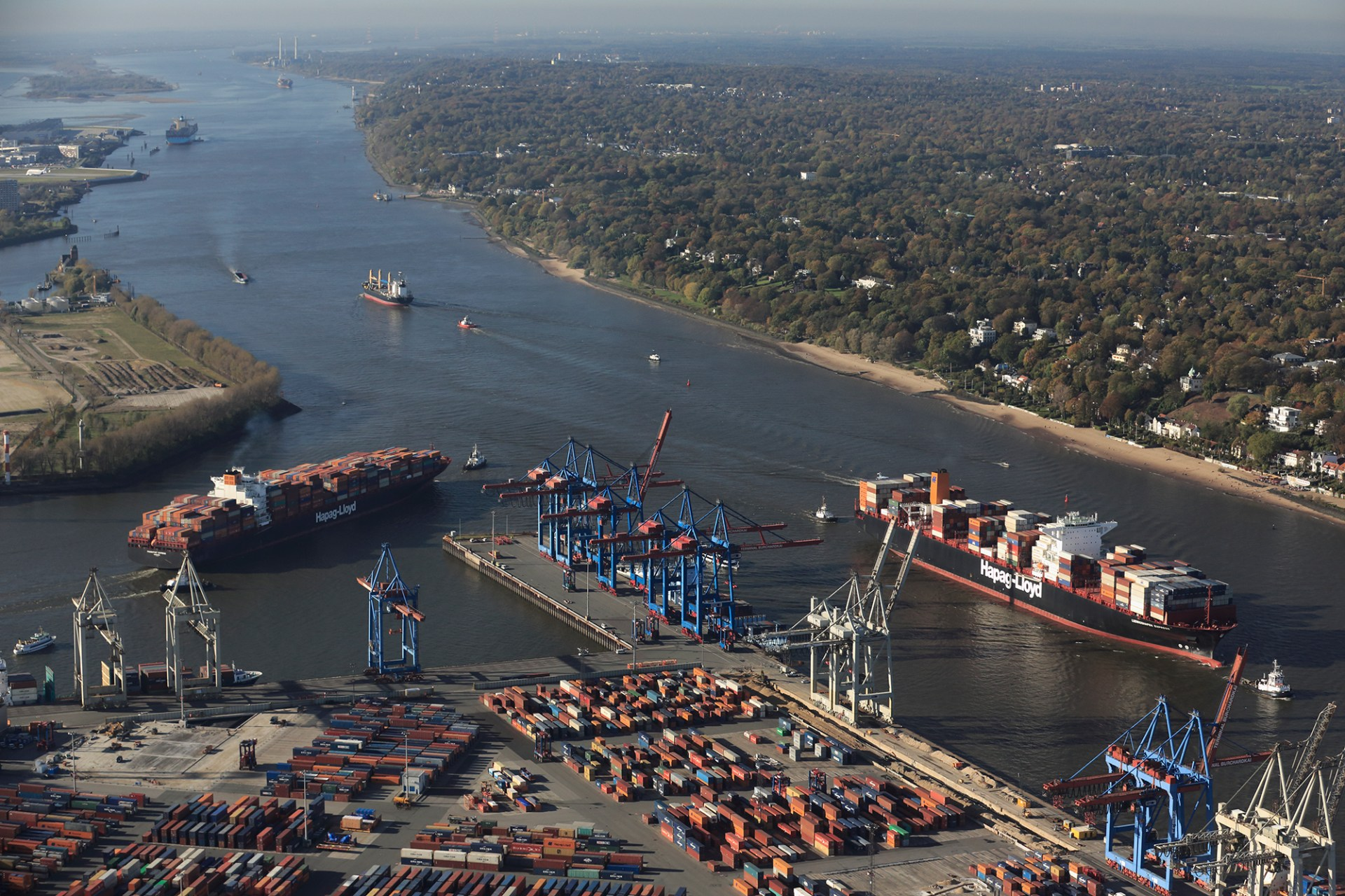 Waterways # 7: Port of Hamburg, Germany