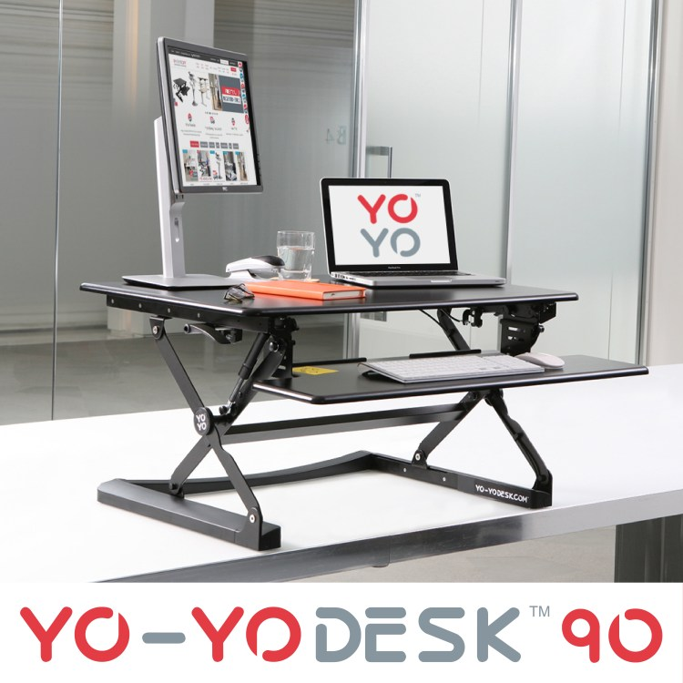 Keep active at work with the standing Yo-Yo Desk ®