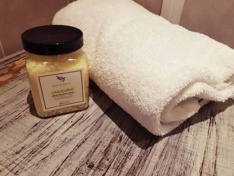 Summer Aromatherapy Dead Sea Bath Salts    Moksha Beauty