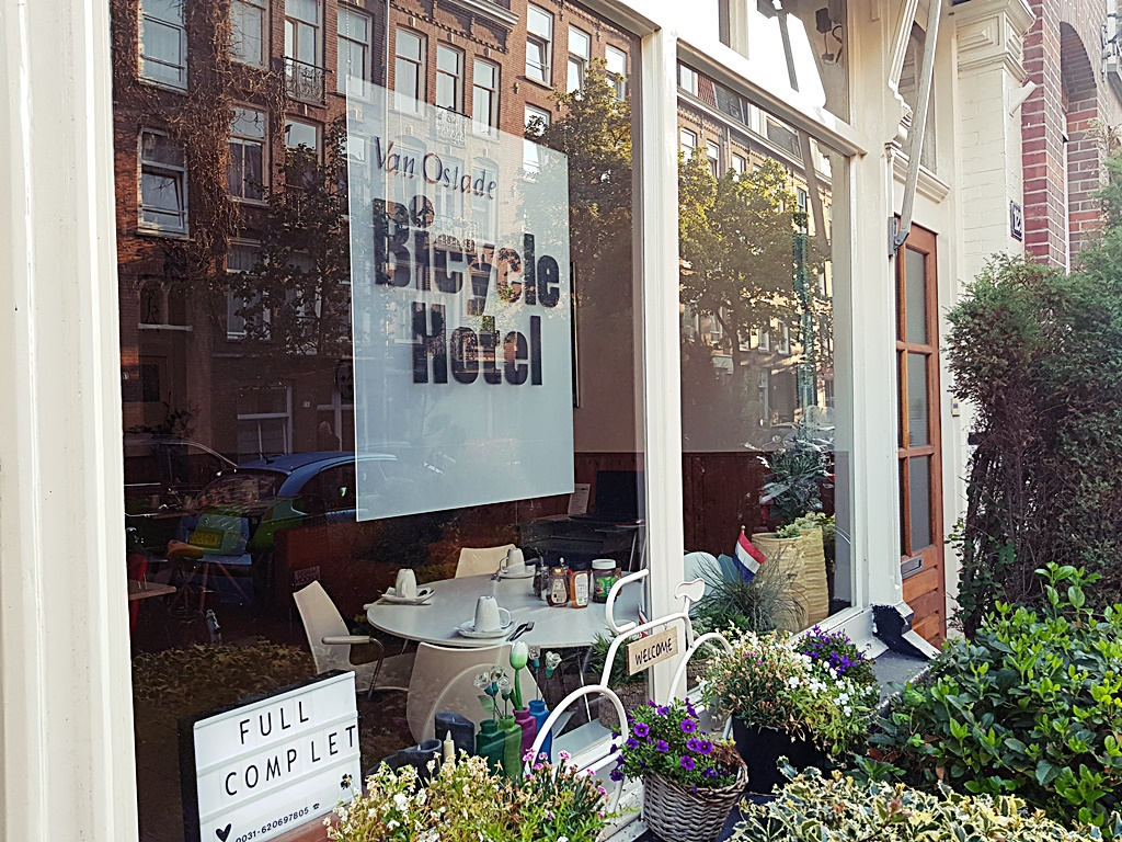 Bicycle Hotel | Amsterdam on a budget