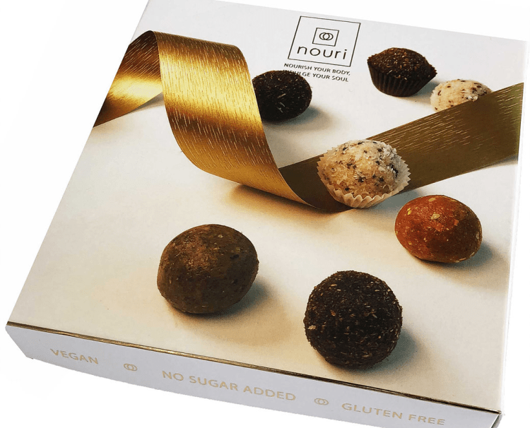 Luxury box of 16 healthy Truffles | Nouri (3 Prizes!)